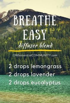 Breathe Easy Diffuse