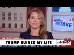MSNBC Reporter Admits She's Emotionally Scarred from Trump Forever - YouTube