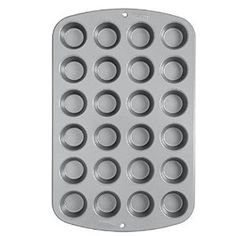 Need a new mini muffin tin? I swear 1/2 of the desserts I make I use this! From cupcakes, to brownie bits! You will love it!