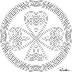 Free Coloring Pages Of Celtic Pattern