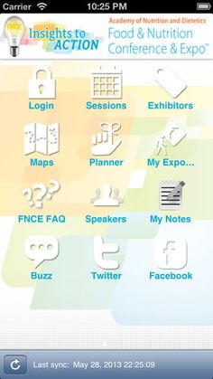 Are you at FNCE? Well there's an app for that! Nutrition Apps, Nutrition Action, Nutrition And Dietetics, Eat Right, Insight, Eating Well