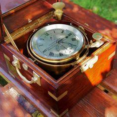 Marine Chronometer. Joseph Sewill. Liverpool, England. Early 1860s