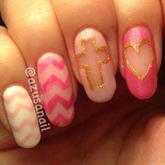 So pink by azusanail