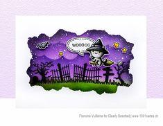 Stamps: Balloon Bunch Halloween Fall Pumpkins, Halloween Pumpkins, Fall Halloween, Simon Says Stamp, Card Making Inspiration, Distress Ink, Halloween Cards, Greeting Cards Handmade, Black Backgrounds