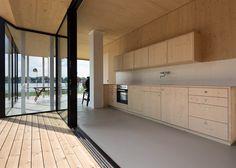 Maximilian Eisenköck's holiday home has blackened timber walls