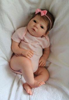 *REBORN DOLL BABY GIRL NEWBORN from SABRINA kit by REVA SCHICK*RESELL*