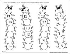 Missing numbers, counting backwards and number identification worksheets for preschool children. Fill in the missing numbers fun activity for children in pre Missing Number Worksheets, Number Worksheets Kindergarten, Number Activities, Counting Activities, Fun Worksheets, Kindergarten Activities, Counting Worksheet, Preschool Math, Maths