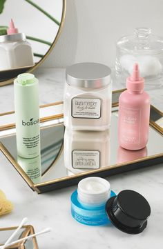 """Give your skin some love. Whether you come from the mindset of """"more is more"""" or """"less is more,"""" we've got your skincare needs covered from head-to-toe. Shop our faves from boscia, Laura Mercier, belif and Sunday Riley. Macy's Beauty, Beauty Stuff, Beauty Tips, Beauty Hacks, Sunday Riley, Laura Mercier, Korean Skincare, Good Skin, Mindset"""