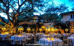 Complete list of the most beautiful and romantic wedding venues in South Florida. At myfloridawedding.net
