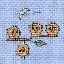 cross stitch owl - Buscar con Google