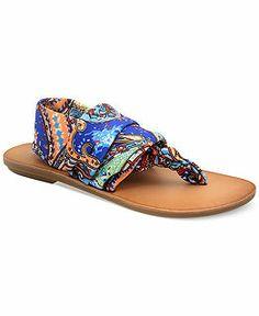 Low Heel Sandals - Macy's