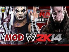 WWE Jeff Hardy [Willow] vs. Undertaker [SvR 2011] MOD 2K14 #PS2