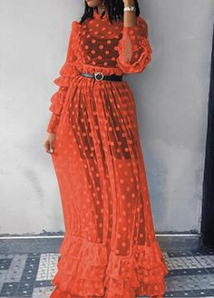 Lovely Casual Dots Printed Gauze Dress – esshe