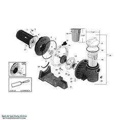 106 Best Balboa Spa Pumps images | Balboa spa, Pump, Bathing Balboa Spa Installation Wiring Diagram Tp on