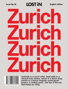 Lost+in+Zurich*+a+City+Guide+curated+by+locals