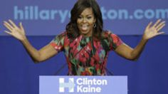 First lady Michelle Obama spoke during a campaign rally for Democratic presidential candidate Hillary Clinton on Tuesday in Charlotte, N.C.