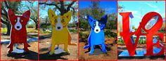 George Rodrigue Rocks #bluedog #poeyfarremarket #warehousedistrict #nola #neworleans