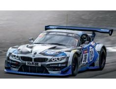 The Carrera 1/32 BMW Z4 GT3 Walkenhorst No.36 Slot Car, is a superbly detailed Carrera Evolution slot car for use on any 1/32 analogue slot car layout. Picture is of real car, actual model may vary.
