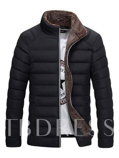 Macondoo Mens Fleece Thicken Puffer Cotton-Padded Outerwear Mid-Long Parkas Coat