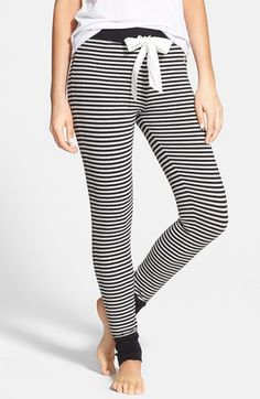 comfy cozy stripe pajama pants