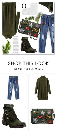 """Army 60"" by nerma10 ❤ liked on Polyvore featuring Miz Mooz and Vanity Fair"