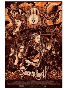 Alternative movie poster for Sucker Punch by Ken Taylor