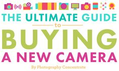 Introducing The Ultimate Guide to Buying a New Camera, and Our Recommended Photography Equipment! http://photographyconcentrate.com/introducing-the-ultimate-guide-to-buying-a-new-camera-and-our-recommended-photography-equipment/