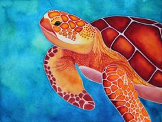 Limited Edition of 500 Giclee print of Green Sea turtle, an original watercolor painting by Rachel Fisher. 8x10 Prints $30 Each Any two for $50 use code TWOPRINTS Any three for $70 use code THREEPRINTS Any four for $90 use code FOURPRINTS 11x14 Prints $50 Each Any two for $90 use code