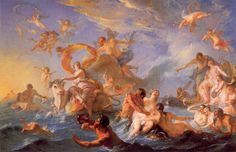 The Abduction of Europa, Noël-Nicolas Coypel, 1726-7