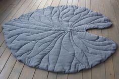 Как сшить одеяло коврик листик / Простые выкройки / ВТОРАЯ УЛИЦА