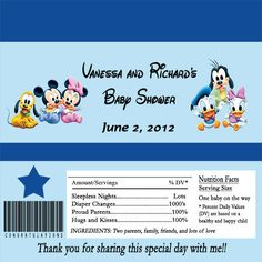 ★★★Thanks for visiting my shop★★★  This is for a for one of my adorable Birthday #Candy #Bar Wrappers. This listing offers you both the #digital #file or printed wrappers.  ... #party #favors #hershey #candy #bar #wrapper #baby #shower #disney #babies