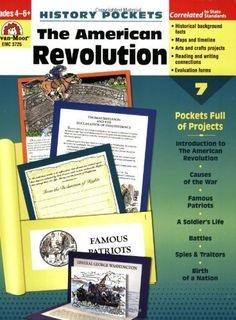 History Pockets: The American Revolution by Evan-Moor Educational Publishers, http://www.amazon.com/dp/1596732601/ref=cm_sw_r_pi_dp_9Uy3tb0CA1KKQ