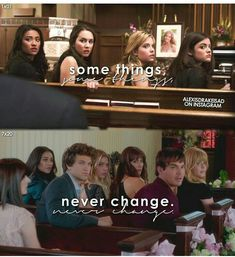 Pll Quotes, Pll Memes, Tv Show Quotes, Preety Little Liars, Pretty Little Liars Quotes, Pll Logic, Pretty Little Liars Characters, Detroit Become Human, The Good Old Days