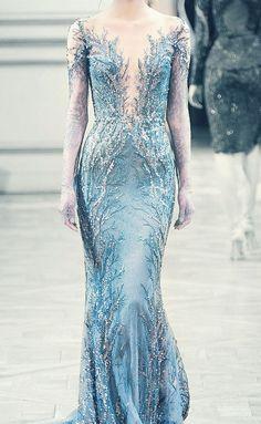 25 Breathtaking Ice Queen Themed (Frozen-Inspired) Wedding Dresses