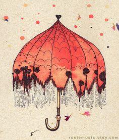 Umbrella by Rosie Music, via Flickr