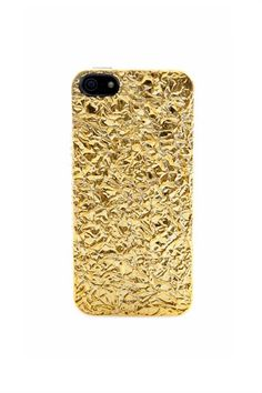 Foil Covered iPhone 5 Case - MARC BY MARC JACOBS