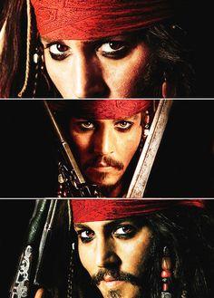 Captain Jack Sparrow - pirates-of-the-caribbean Fan Art