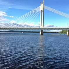 Rovaniemi city center and river are beautiful in the summer Stuff To Do, Things To Do, Travel Guide, Scandinavian, Northern Lights, River, Explore, City, Bridges