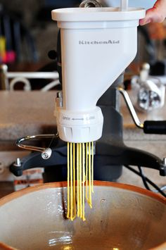 KitchenAid Pasta Attachment Giveaway - dineanddish.net
