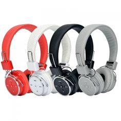 AT-BT817 Bluetooth 2.1 Wireless Headset With Mic Support TF card AUX-in Music Headphone Stereo For Phones PC Child Gift