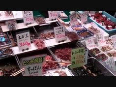 Nishiki Food Market, Downtown Kyoto City, Japan