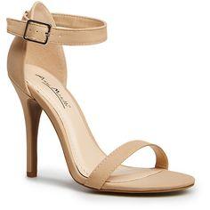 Simple Strap Heels ($35) via Polyvore