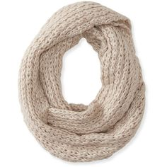 Basketweave Infinity Scarf (15 CAD) ❤ liked on Polyvore featuring accessories, scarves, tube scarf, round scarves, infinity scarves, infinity loop scarves and chunky knit infinity scarf