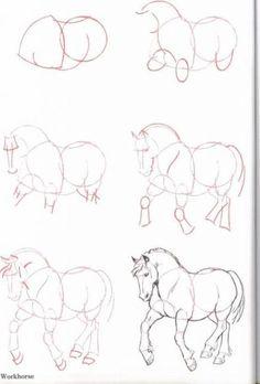 -Pencil Drawing Horse Technisches Zeichnen – Hayvan çizimleri wi… Pencil Drawing Horse Technisches Zeichnen – Animal drawings to the wild funny – - Horse Pencil Drawing, Horse Drawings, Animal Drawings, Pencil Drawings, Drawing Animals, Horse Drawing Tutorial, Drawing Faces, Drawing Skills, Drawing Lessons