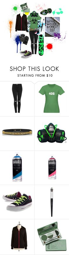 """""""Jen-Fisheye Placebo"""" by conquistadorofsorts ❤ liked on Polyvore featuring Topshop, Sophie Hulme, GAS Jeans, Converse, Sephora Collection, HUE, DuWop and Carolina Amato"""