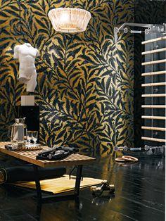Morris by Bisazza | Oro Bianco mosaic | Oro Giallo mosaic | ..