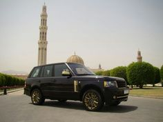 Range rover vogue gold edition