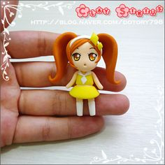 How to make this cute figurine. It's from polymer clay but works also for fondant