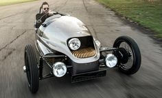 Morgan's EV3 offsets carbon emissions... and its headlight | Classic Driver Magazine