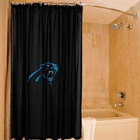 NEW Arrival: Carolina Panthers 72'' x 72'' Shower Curtain
